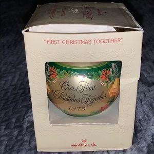 Hallmark Our First Christmas 1979